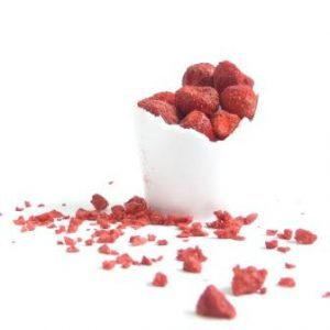 Freeze Dried Strawberry Slices (40g)