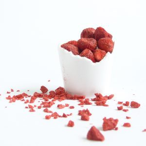 Freeze Dried Whole Strawberries (40g)