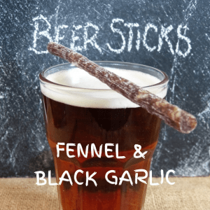 Fennel & Black Garlic Beer Sticks 450g